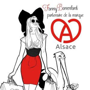 Fanny Bonenfant partenaire de la marque Alsace