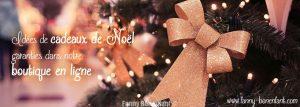 Cadeaux originaux faits main pour Noël