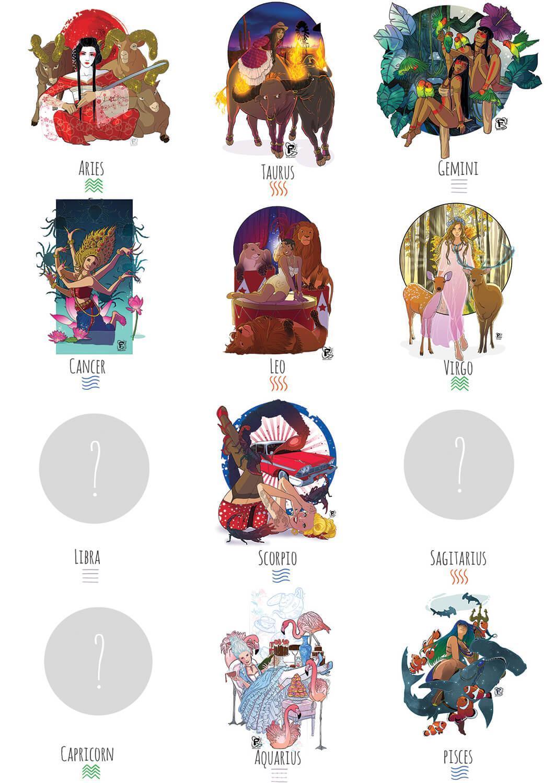 Les quatre éléments dans l'horoscope revisité de Fanny Bonenfant
