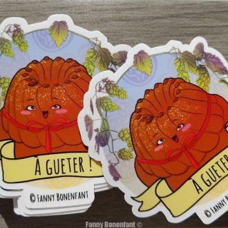 Sticker Kougelhopf – A Gueter !