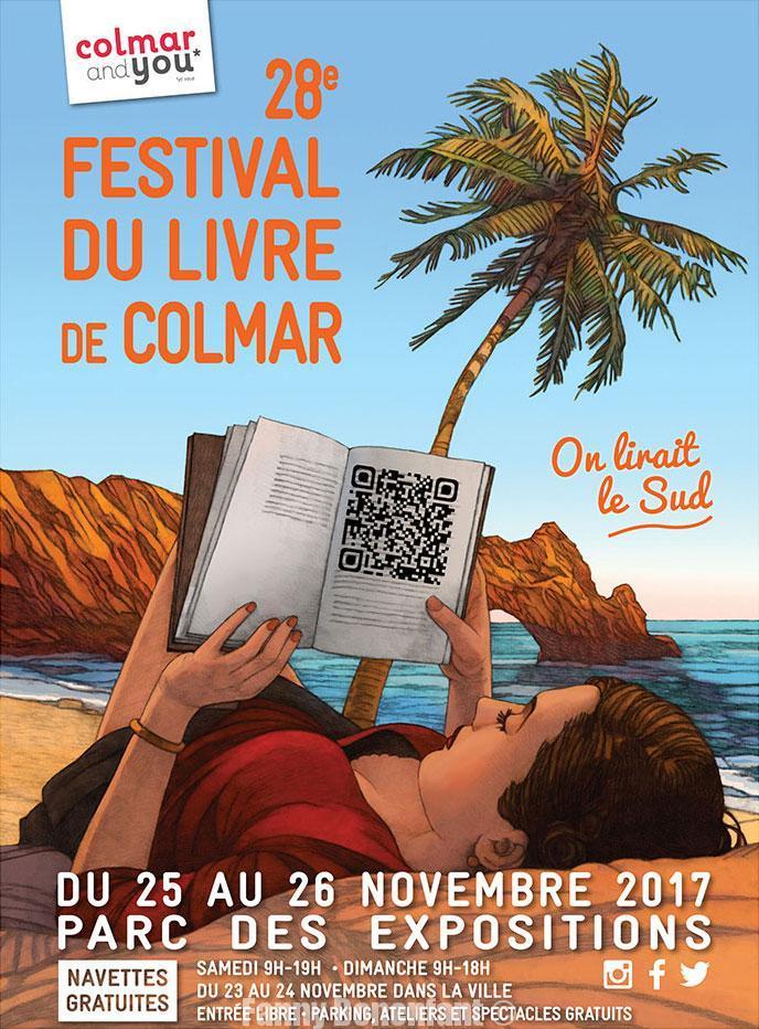 affiche festival du livre de colmar 2017