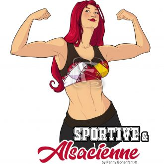 Sticker Sportive et Alsacienne
