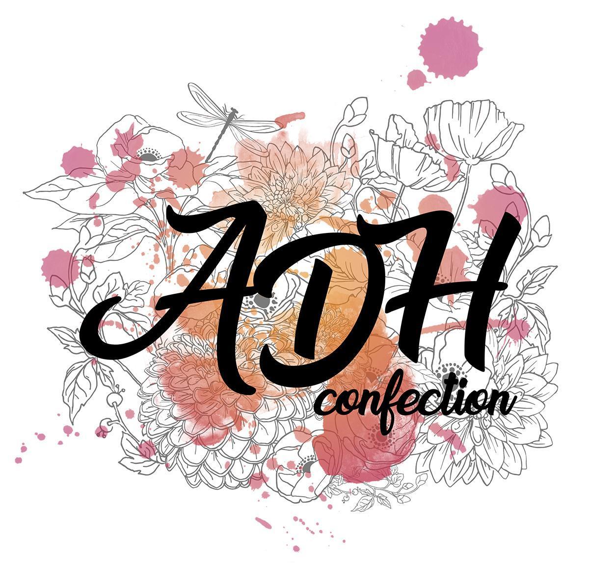 logo ADH Confections colmar stylisme fanny bonenfant