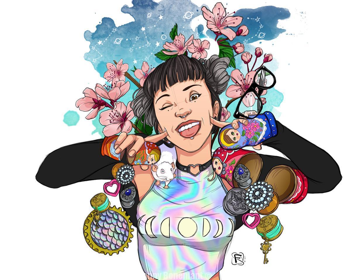 mascotte illustration pysbalba bijoux fanny bonenfant
