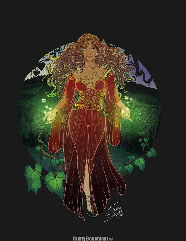 L'esprit des Vignes - Vines Spirit - légende alsacienne par Fanny Bonenfant