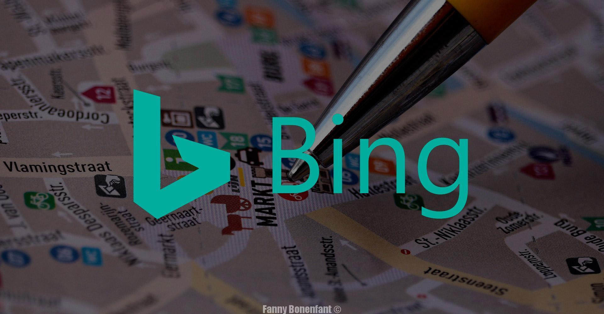 Ajouter Bing Maps