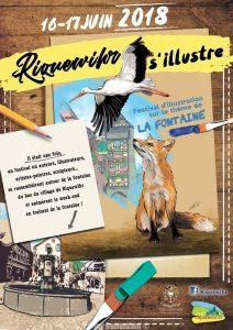 Festival d'illustrations de Riquewihr 2018